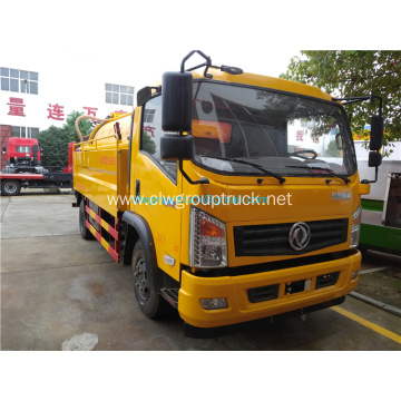 LHD or RHD 4000liters sewage suction truck